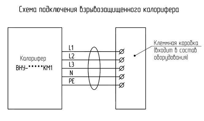 Схема подключение